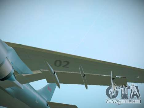 Canadian Forces Airbus CC150 Polaris for GTA San Andreas inner view
