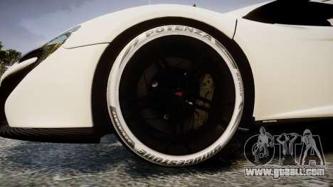 McLaren 650S Spider 2014 [EPM] Bridgestone v3 for GTA 4 back view
