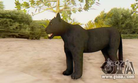 Black Panther (Mammal) for GTA San Andreas forth screenshot