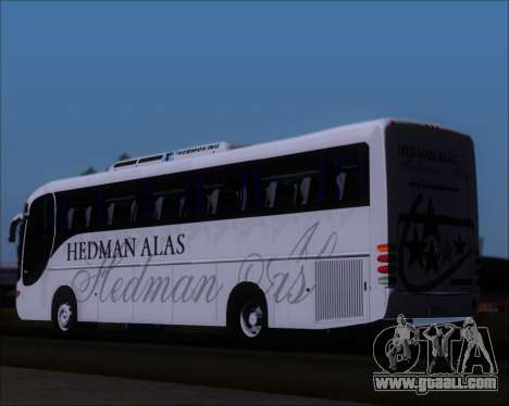 Comil Champione 2005 Hedman Alas for GTA San Andreas back left view
