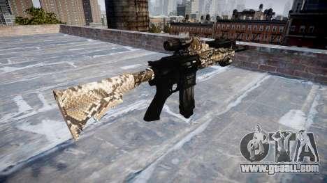 Automatic rifle Colt M4A1 viper for GTA 4 second screenshot