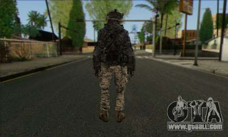 Task Force 141 (CoD: MW 2) Skin 4 for GTA San Andreas second screenshot