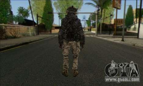 Task Force 141 (CoD: MW 2) Skin 4 for GTA San Andreas second screenshot