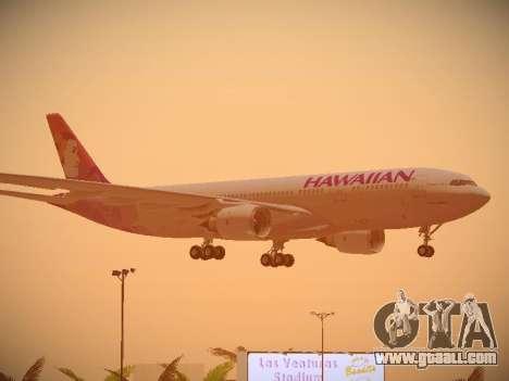 Airbus A330-200 Hawaiian Airlines for GTA San Andreas wheels