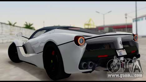 Ferrari LaFerrari 2014 (HQLM) for GTA San Andreas left view