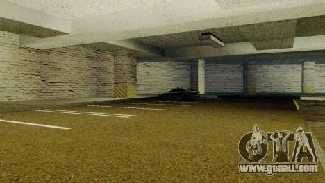 New textures Parking in the LSPD for GTA San Andreas second screenshot