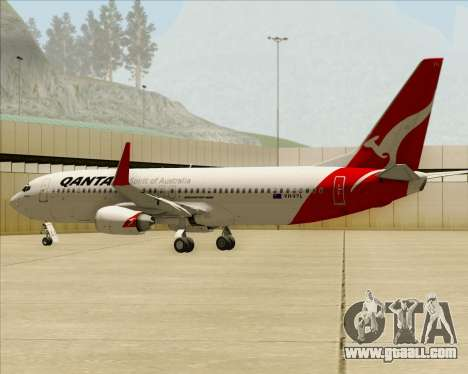 Boeing 737-838 Qantas for GTA San Andreas engine