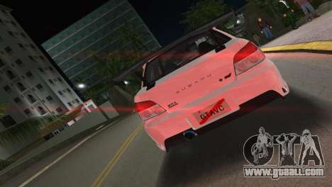 Subaru Impreza WRX STI 2006 Type 3 for GTA Vice City back left view