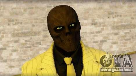 Black Mask From Batman: Arkham Origins for GTA San Andreas third screenshot