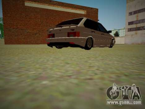 VAZ 2114 for GTA San Andreas back view