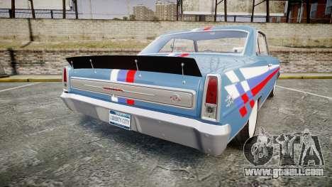 Chevrolet II Nova SS 1966 Custom [EPM] PJ2 for GTA 4 back left view