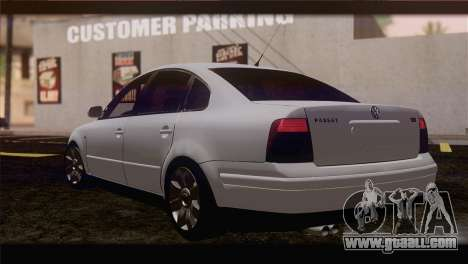 Volkswagen Passat B5 for GTA San Andreas left view