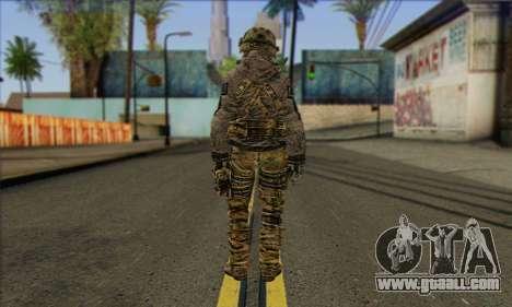 Task Force 141 (CoD: MW 2) Skin 7 for GTA San Andreas second screenshot