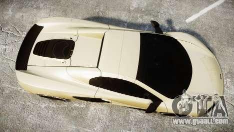 McLaren 650S Spider 2014 [EPM] Yokohama ADVAN v3 for GTA 4 right view