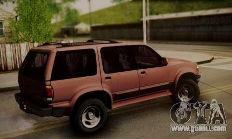 Ford Explorer 1996 for GTA San Andreas left view