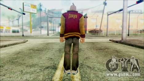 Manhunt Ped 17 for GTA San Andreas second screenshot