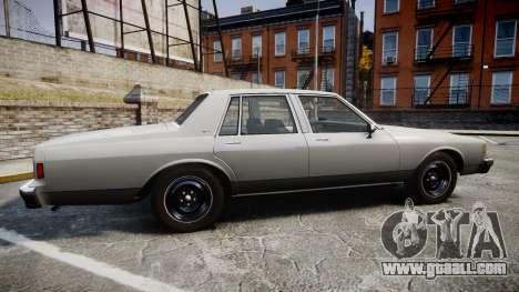Chevrolet Impala 1985 for GTA 4 left view