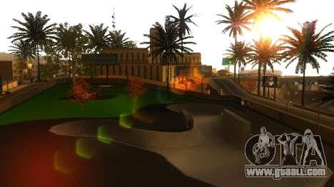 HD Textures skate Park and hospital V2 for GTA San Andreas eleventh screenshot