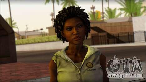 Joslin Reyes for GTA San Andreas third screenshot