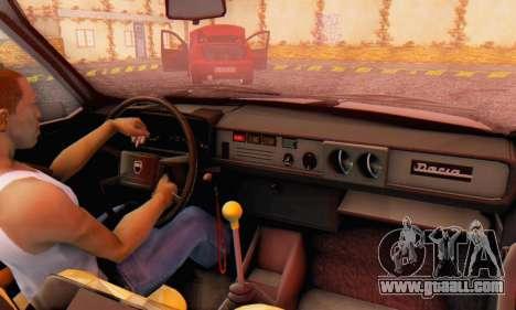 Dacia 1310 TX Stock v1 for GTA San Andreas back view