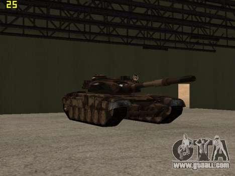 T-72 for GTA San Andreas inner view