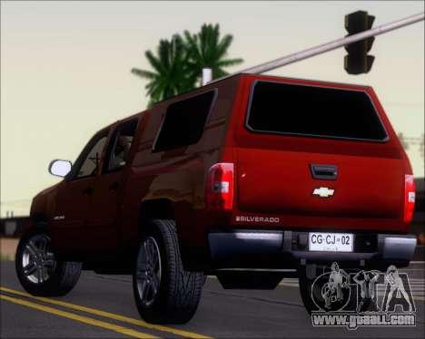 Chevrolet Silverado 2011 for GTA San Andreas engine