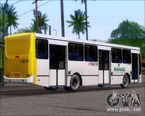 Caio Induscar Apache S21 Volksbus 17-210 Manaus for GTA San Andreas back left view