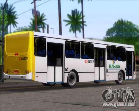 Caio Induscar Apache S21 Volksbus 17-210 Manaus for GTA San Andreas back left view