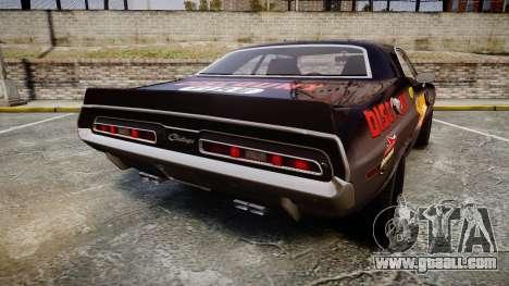 Dodge Challenger 1971 v2.2 PJ8 for GTA 4 back left view