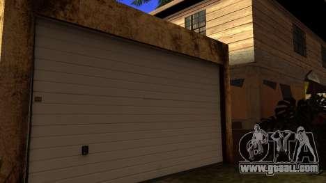 New HD textures houses on grove street v2 for GTA San Andreas third screenshot