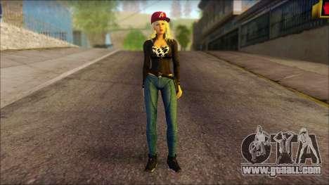 Eva Girl v2 for GTA San Andreas
