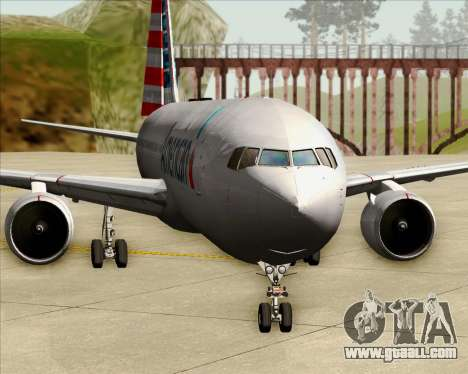 Boeing 767-323ER American Airlines for GTA San Andreas interior
