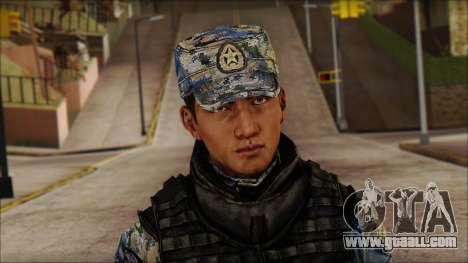 MG from PLA v1 for GTA San Andreas third screenshot