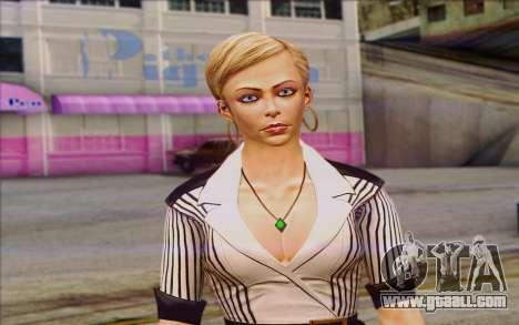 Tracy from Batman Arkham Origins for GTA San Andreas third screenshot