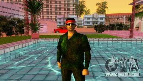 Camo Skin 14 for GTA Vice City