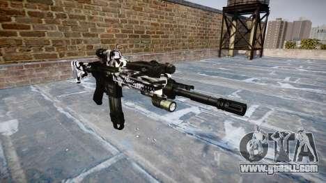 Automatic rifle Colt M4A1 siberia for GTA 4
