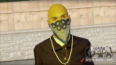 El Coronos Skin 3 for GTA San Andreas third screenshot