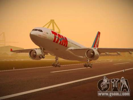 Airbus A330-200 TAM Airlines for GTA San Andreas