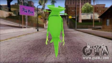 Dutchman from Sponge Bob for GTA San Andreas second screenshot