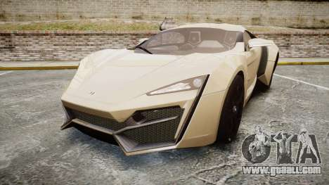 Lykan HyperSport for GTA 4