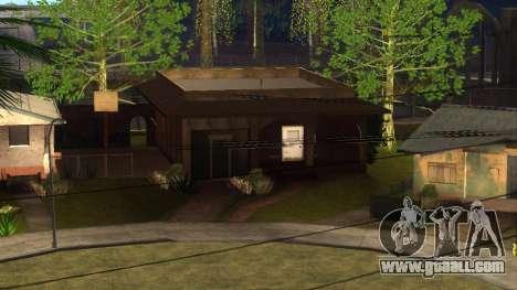 New HD textures houses on grove street v2 for GTA San Andreas
