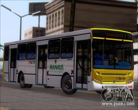 Caio Induscar Apache S21 Volksbus 17-210 Manaus for GTA San Andreas wheels