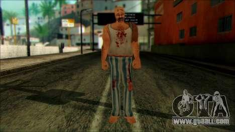 Manhunt Ped 8 for GTA San Andreas