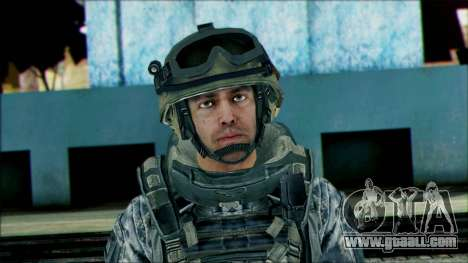 Ranger (CoD: MW2) v2 for GTA San Andreas third screenshot