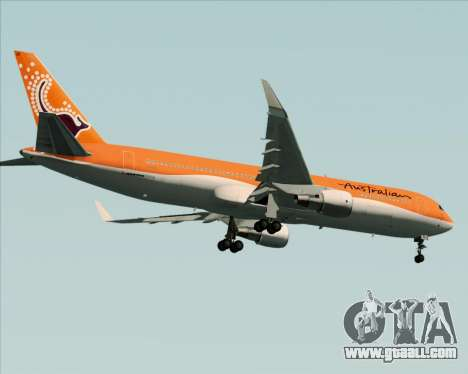 Boeing 767-300ER Australian Airlines for GTA San Andreas right view
