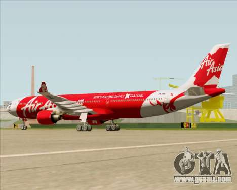 Airbus A330-300 Air Asia X for GTA San Andreas right view