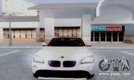 Bmw X1 for GTA San Andreas left view