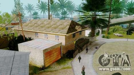 New textures houses on grove street for GTA San Andreas