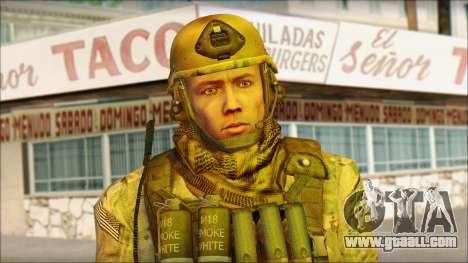 USA Soldier v2 for GTA San Andreas third screenshot