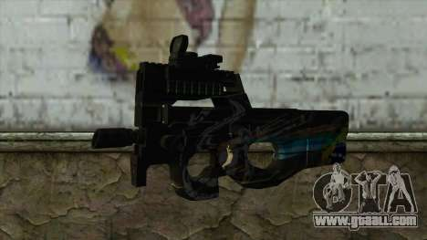 P90 from PointBlank v1 for GTA San Andreas
